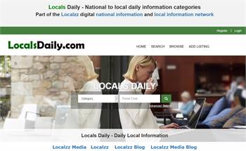 Locals Daily - National to local daily information categories